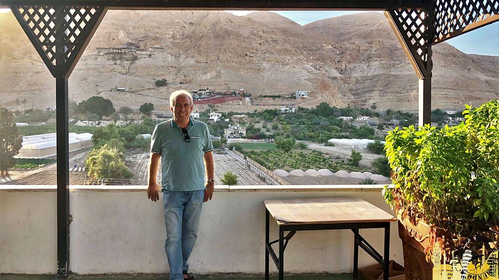 Jericó (Palestina). Monte de la Tentación