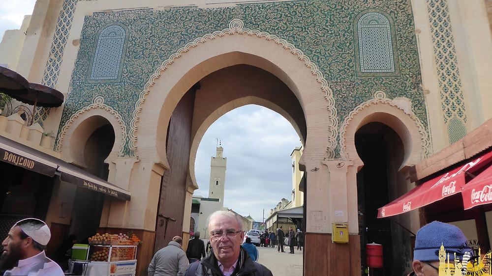 Puerta Bad Bou Jeloud, Fez (Marruecos)