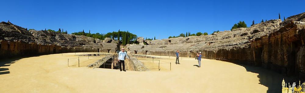 Yacimiento arqueológico de Itálica (España)