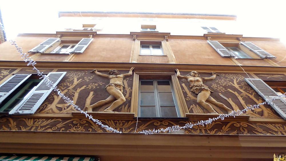 Mansión de Adan y Eva, Niza (Francia)