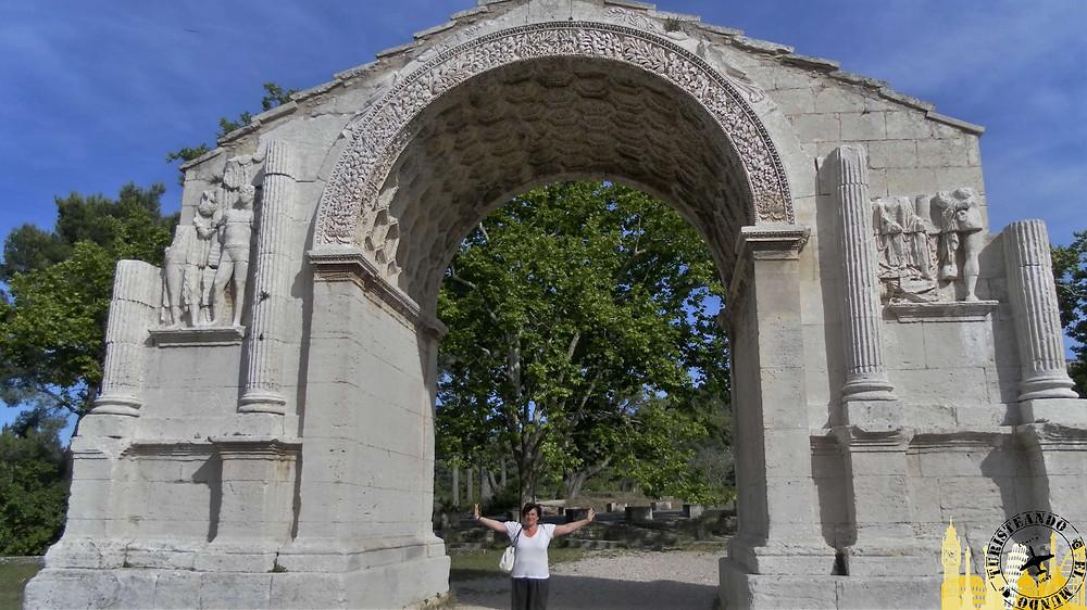 Saint Rémy de Provence (Francia). Les Antiques