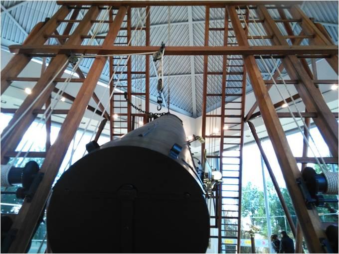 Telescópio madera