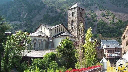 Andorra, el pequeño país de los Pirineos.