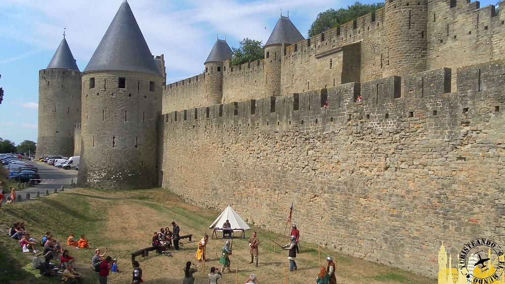 Ciudadela medieval. Carcassonne (Francia)