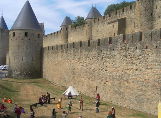 Carcassonne, excepcional ciudadela medieval (Unesco). Francia