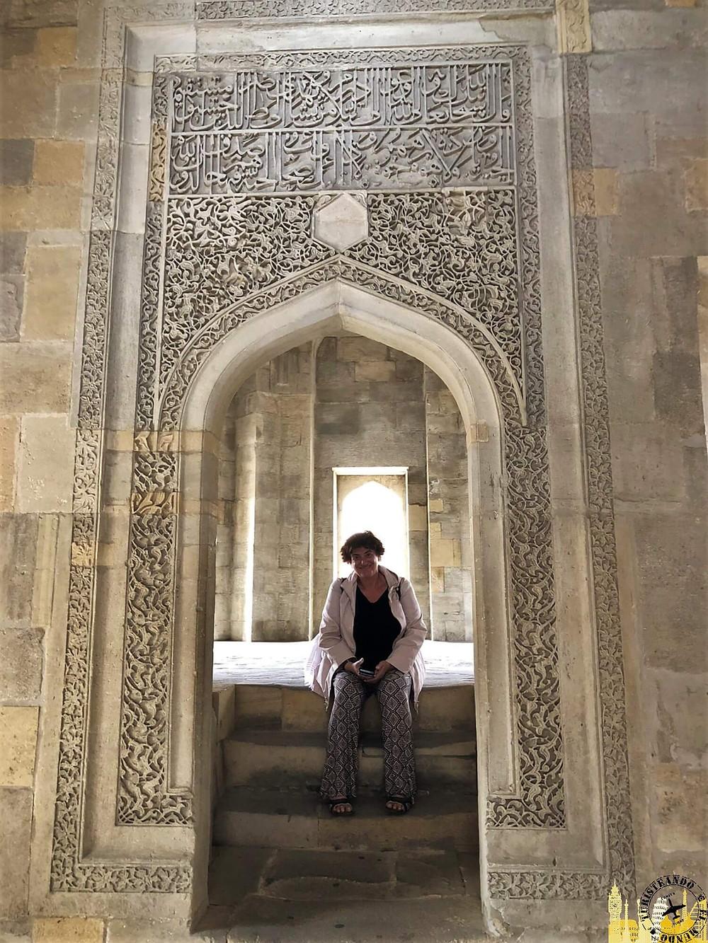 Palacio de los Shirvanshah en Bakú, Azerbaiyán