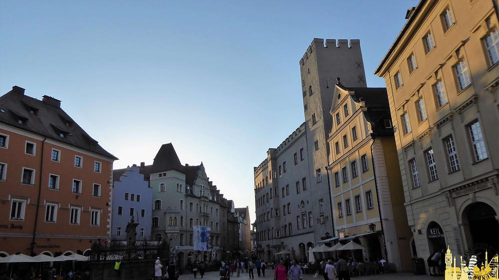 Ratisbona (Alemania). Haidplatz