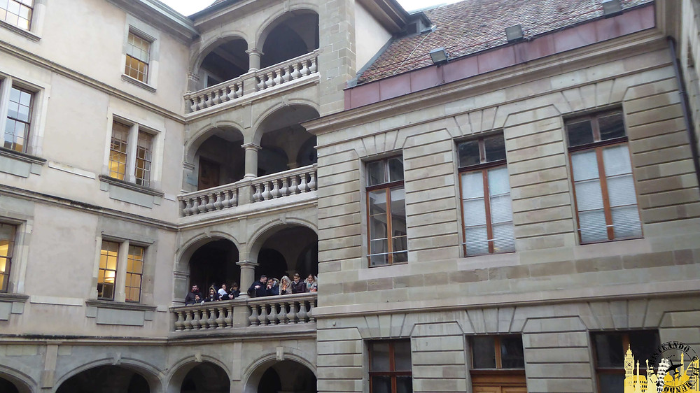 Hotel de Ville, Ginebra (Suiza)