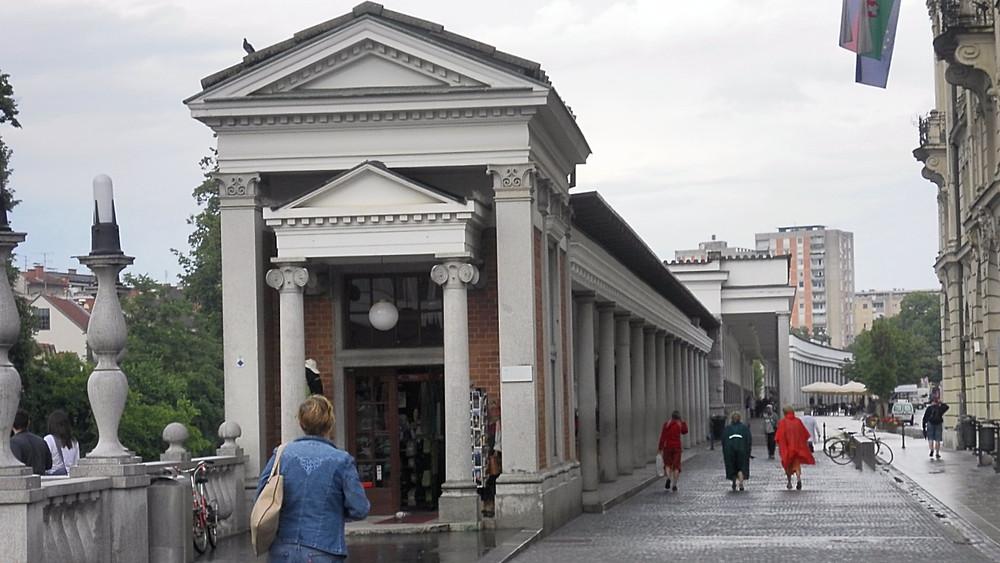 Liubliana (Eslovenia). Mercado Central