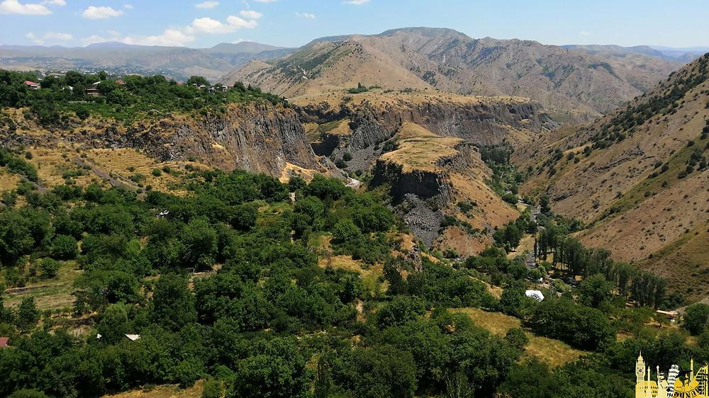 Garganta río Azat (Armenia)