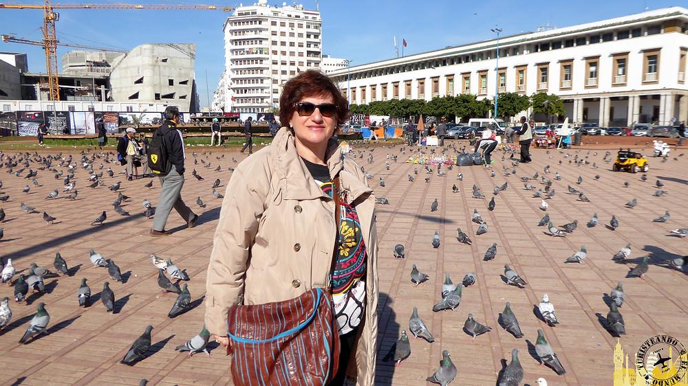 Casablanca (Marruecos). Plaza Mohamed V