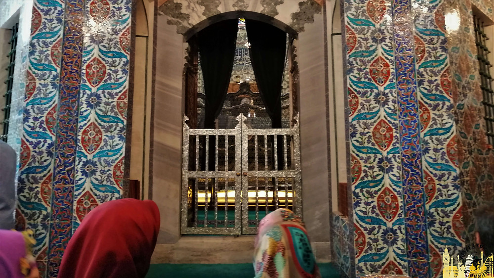 Mezquita de Eyüp. Estambul (Turquía)