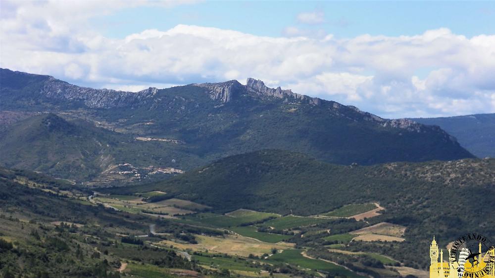 Vistas al castillo de Peyrepertuse