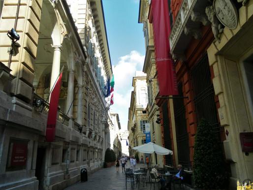 Génova (Italia): le Strade Nuove i palazzi dei Rolli (UNESCO)