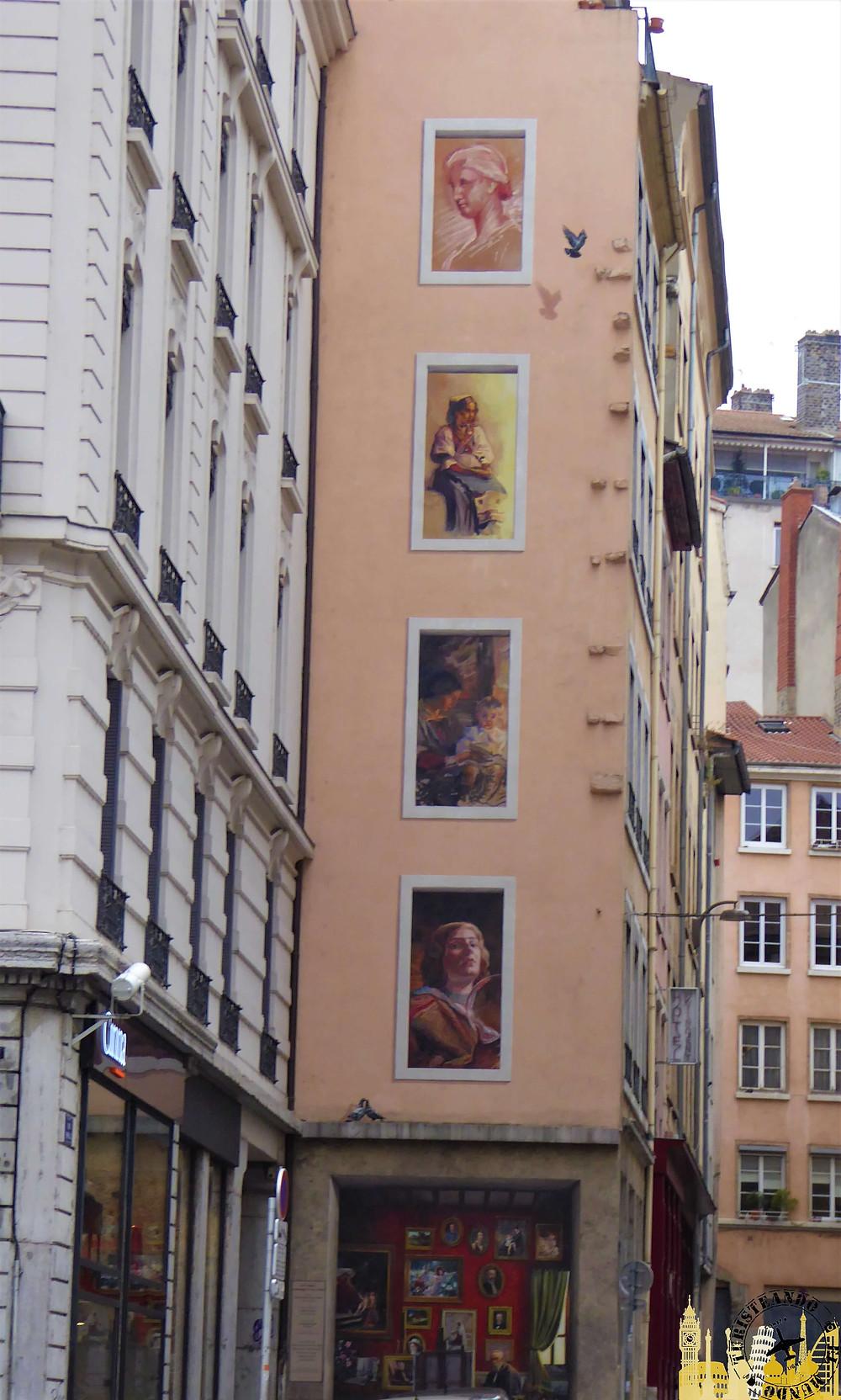 Frescos de Lyon (Francia)