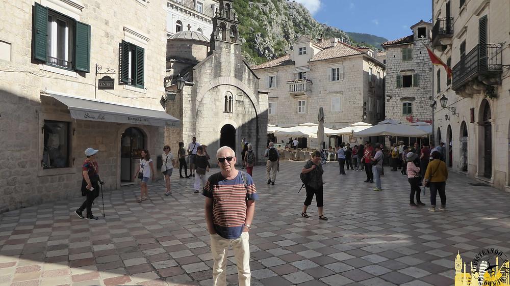 Kotor (Montenegro). Plaza de San Lucas