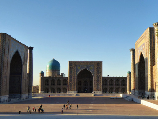 Samarkanda (UNESCO), la mítica ciudad de la Ruta de la Seda de Uzbekistán (I)