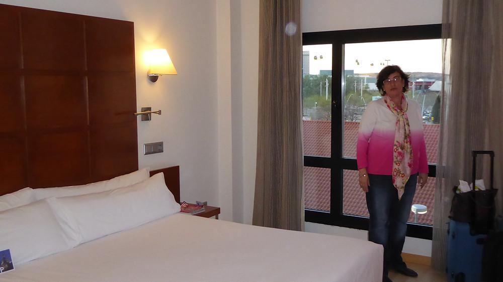 Habitación hotel Tryp Zaragoza