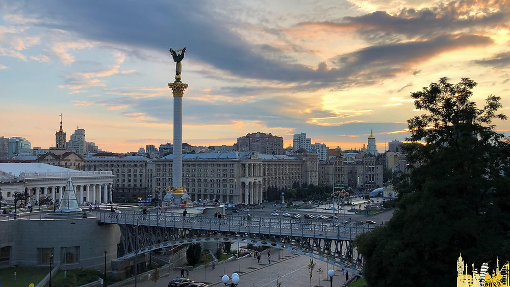 Plaza de la Independencia, Kiev (Ucrania)