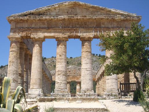 Segesta, el templo de los fugitivos. Sicilia (Italia)