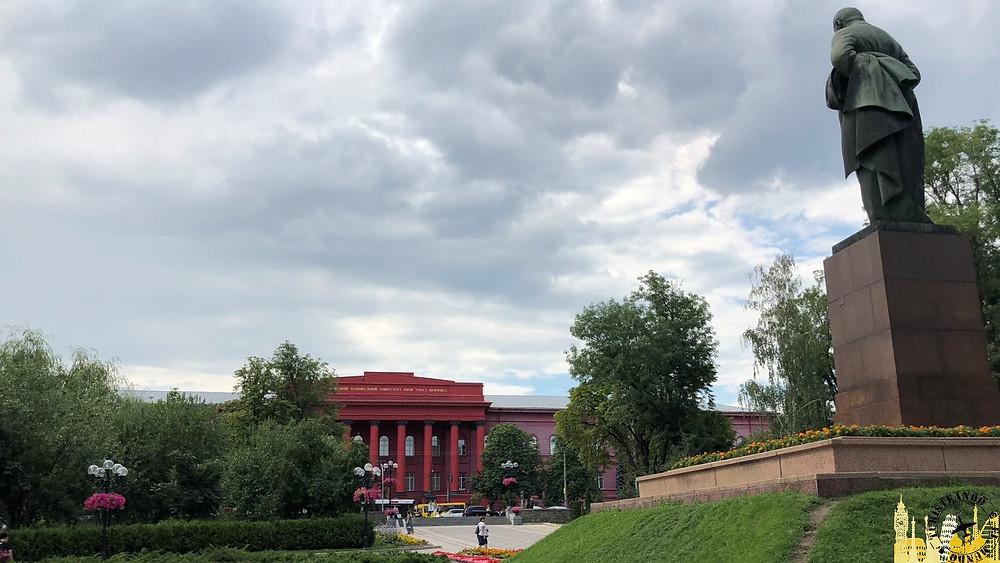 Universidad y parque Taras Schevchenk, Kiev (Ucrania)