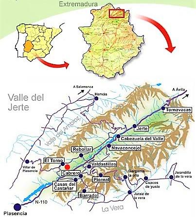Valle del Jerte, Extremadura (España)