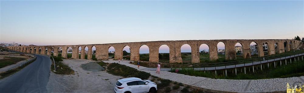 Acueducto de kamares de Larnaca, Chipre