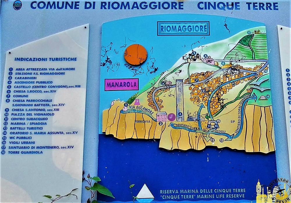 Cinque Terre (Italia). Riomaggiore
