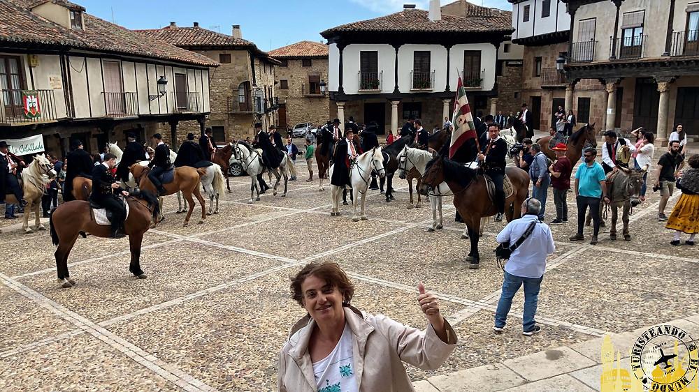 """Atienza y su """"Caballada"""". Guadalajara (Castilla La Mancha)"""