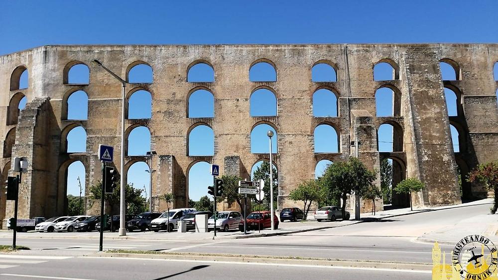 Acueducto de Amoreira. Portugal