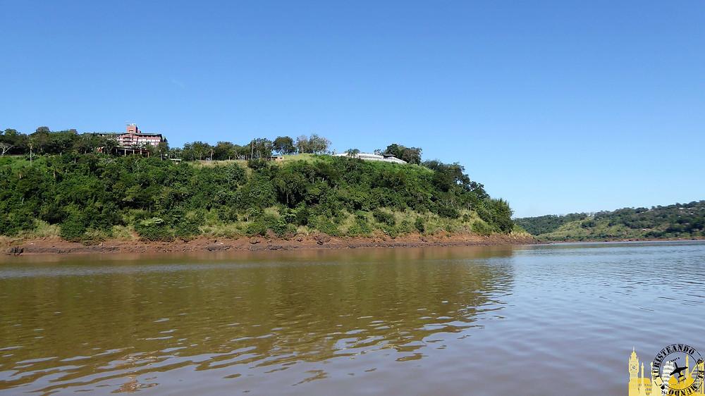 Hito tres fronteras (Argentina). Río Iguazú