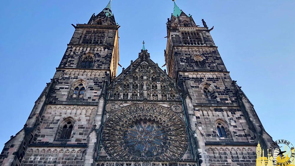 Nüremberg (Alemania). Iglesia de San Lorenzo