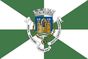 Bandera de Oporto (Portugal)