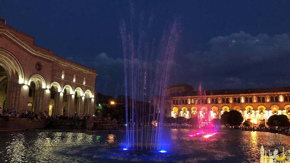 Noche en Ereván (Armenia)