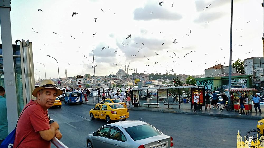 Puente Galata Estambul, Turquía