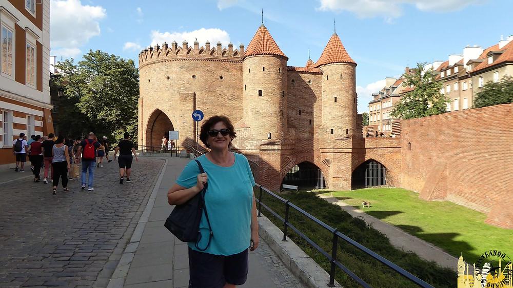 Puerta Barbacana, Varsovia (Polonia)
