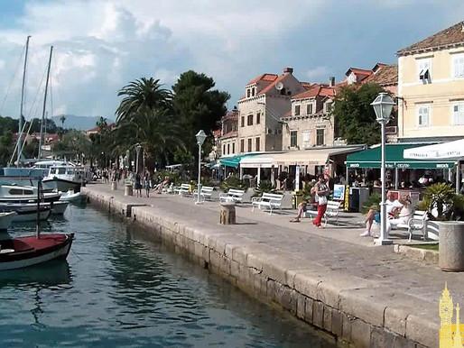 Cavtat. Puerta de entrada en Croacia