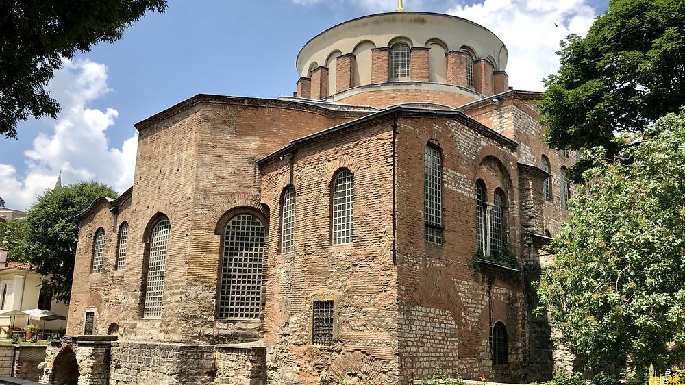 Hagia Irene en  Estambul, Turquía
