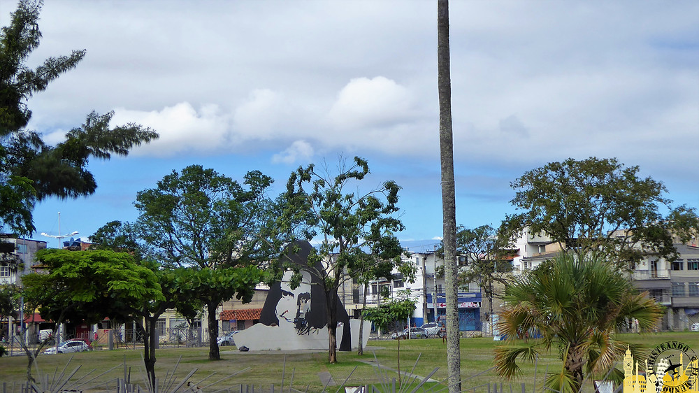 Plaza de la hermana Dulce. Salvador de Bahía (Brasil)