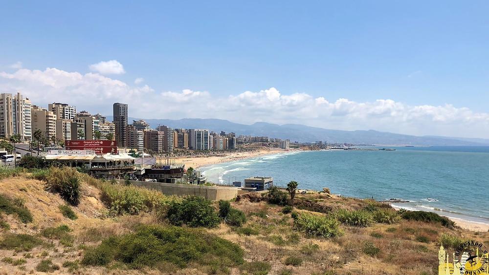Beirut. Playa (Líbano)