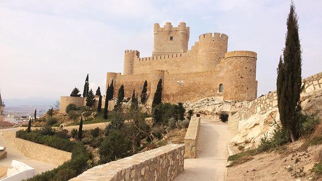 Castillos en la ruta Madrid-Alicante