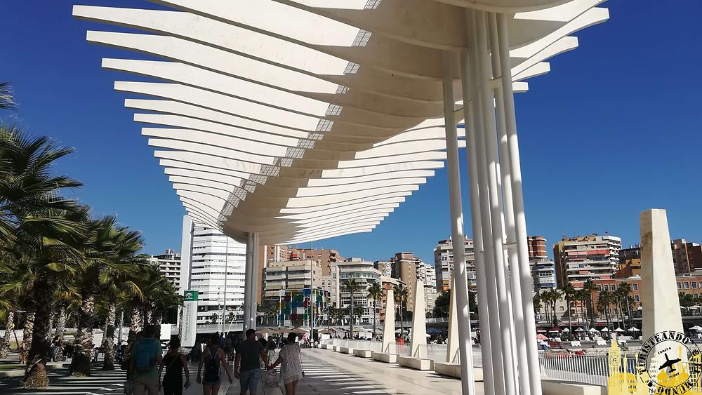 Muelle Uno de Málaga, España