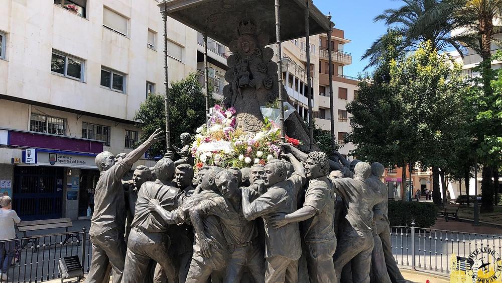 Monumento al Rocío. Huelva (Andalucía). España