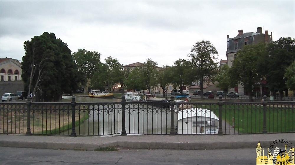 Canal de Midi. Carcassonne (Francia)