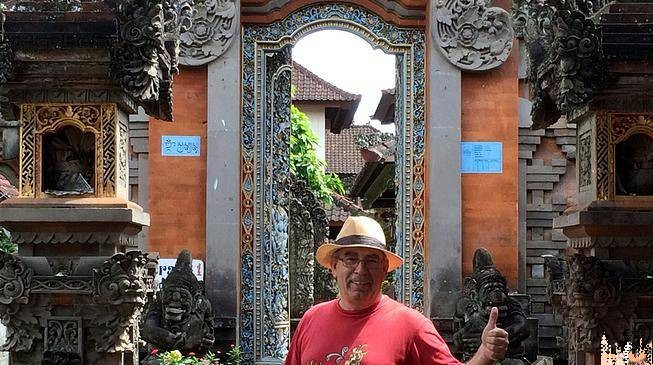 Templos en Ubud
