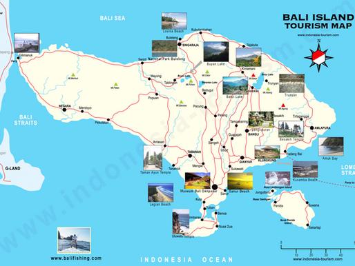 Planificación para una semana en la isla de Bali. Indonesia