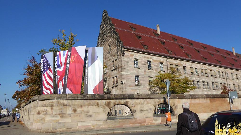 Nüremberg (Alemania). Memorial Juicio de Nüremberg