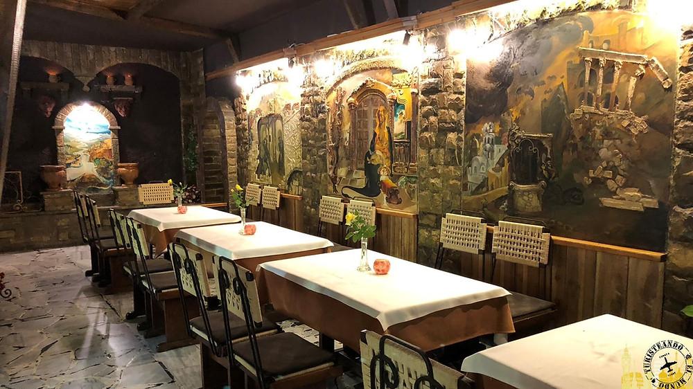 Restaurante Ljgenda. Shkoder (Albania)