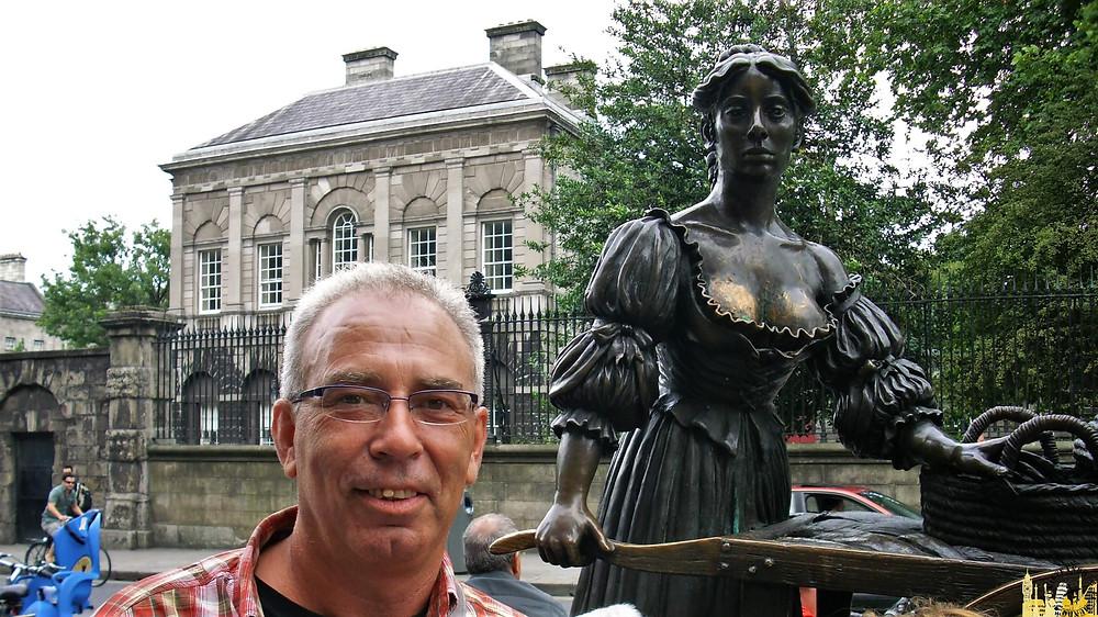 Estatua de Molly Malone. Dublín (Irlanda)