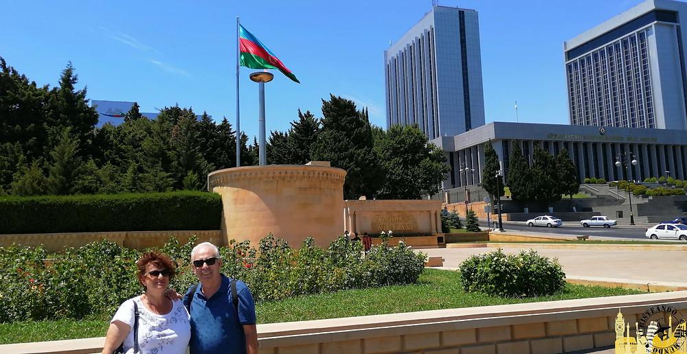 Paseo de los Mártires en Bakú, Azerbaiyán